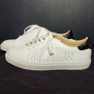 Kate Spade White Ashlyn Sneakers